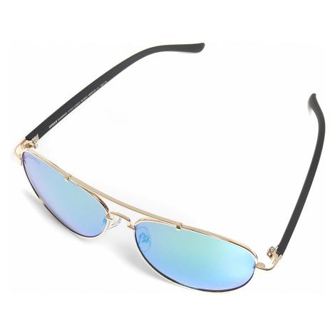 Urban Classics - Mumbo Mirror - Sunglasses - green-gold