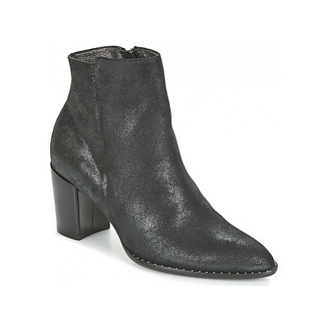 France Mode OLFY women's Low Ankle Boots in Black