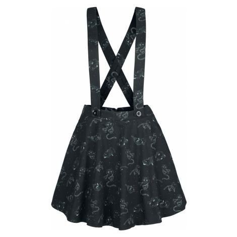 Alice in Wonderland - Cheshire Cat - Skirt - black