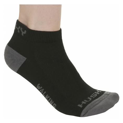 Husky Walking New Socks - Black