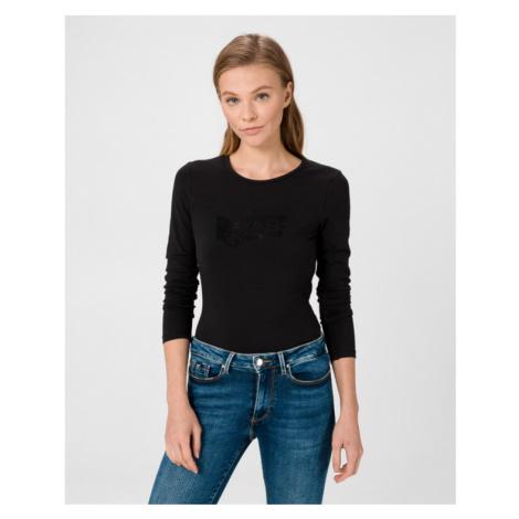 GAS Girl Gas Strass T-shirt Black