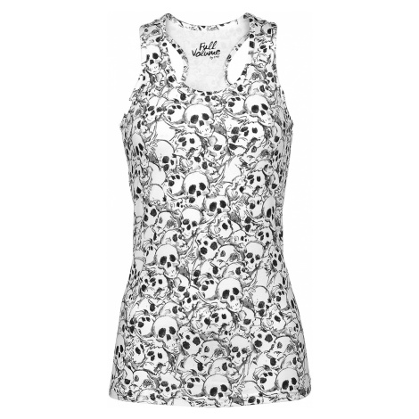Full Volume by EMP - Strong And Smart - Girls Top - white