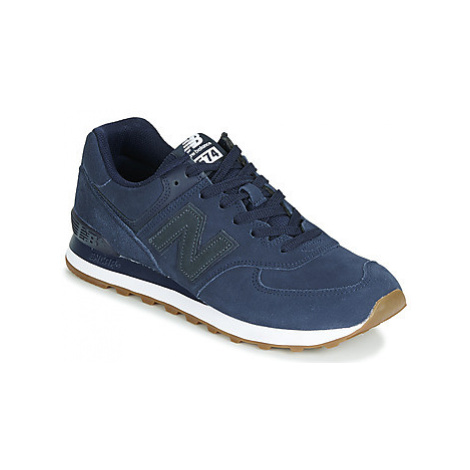 New Balance 574 men's Shoes (Trainers) in Blue