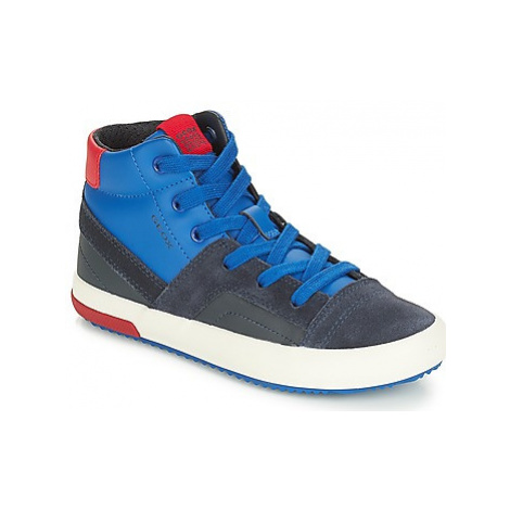 Geox J ALONISSO BOY boys's Children's Shoes (High-top Trainers) in Blue