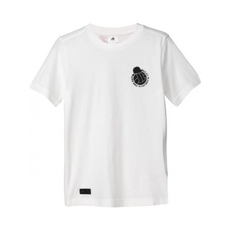 Real Madrid Graphic T-Shirt - White - Kids Adidas