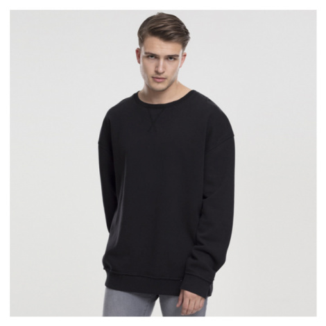 Urban Classics Oversized Open Edge Crew black