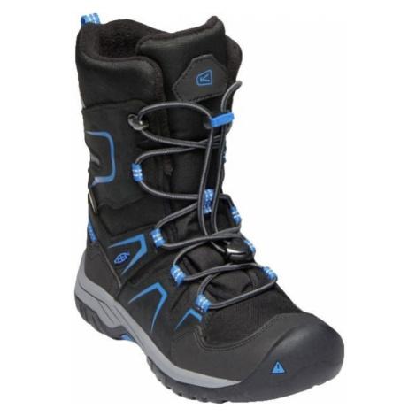 Keen LEVO WINTER WP Y black - Children's winter shoes
