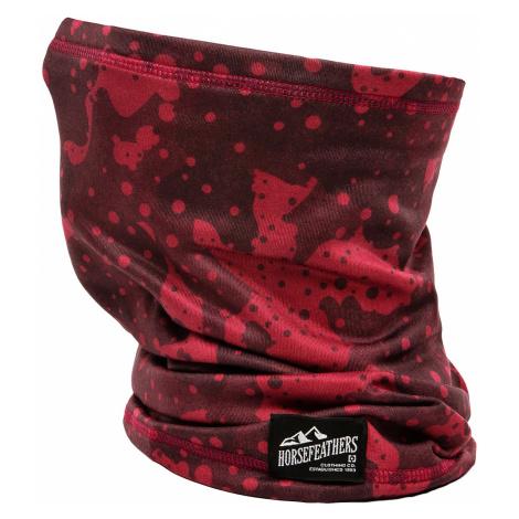 neck warmer Horsefeathers Neck Warmer II - Strawberry Camo