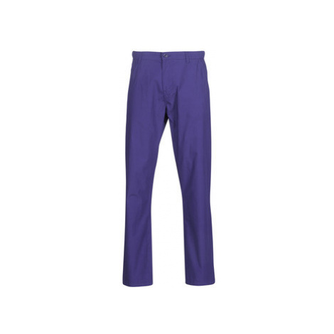Benetton TIMOTI PANTS men's Trousers in Purple United Colors of Benetton