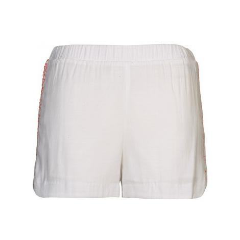 Color Block ALFREDA women's Shorts in White