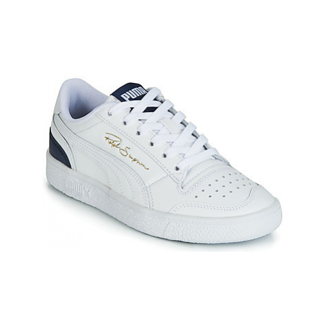Puma RALPH SAMPSON LO JUNIOR girls's Children's Shoes (Trainers) in White