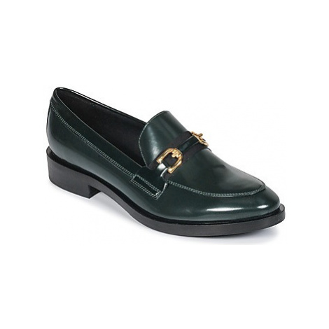Geox DONNA BROGUE women's Loafers / Casual Shoes in Green