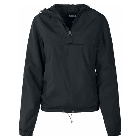 Urban Classics - Ladies Basic Windrunner - Girls windbreaker - black