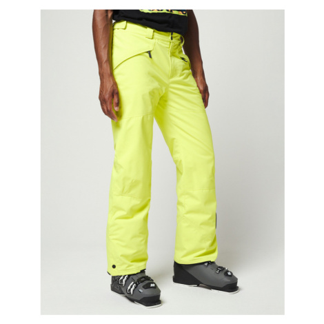 Yellow men's insulated trousers