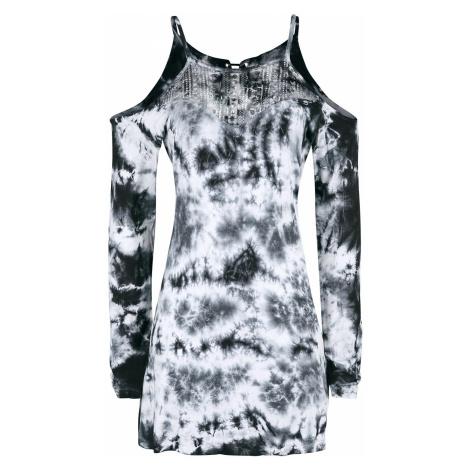 Innocent Romana Top Long-sleeve Shirt white black