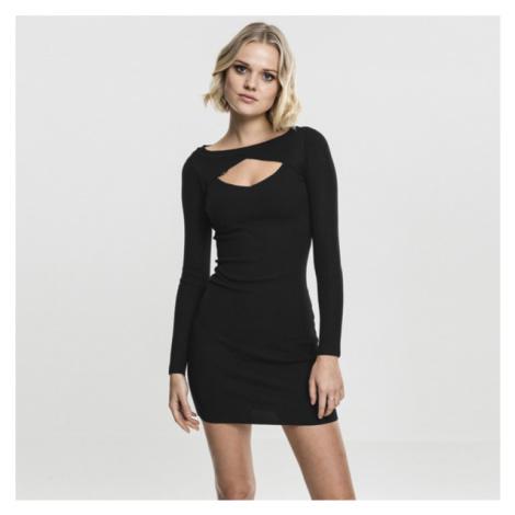 Urban Classics Ladies Cut Out Dress black
