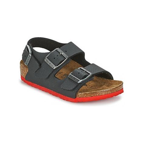 Birkenstock MILANO boys's Children's Sandals in Black