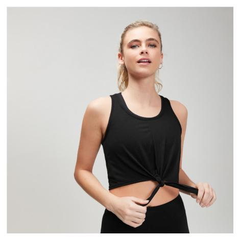 MP Women's Essentials Training Tie Front Crop Vest - Black - XXL Myprotein