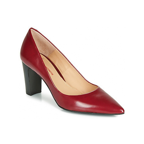 Perlato 11008-JAMAICA-ROUGE women's Court Shoes in Red