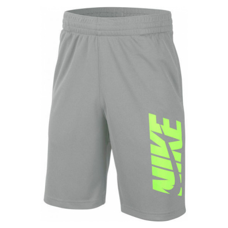 Nike HBR SHORT B grey - Boys' training shorts