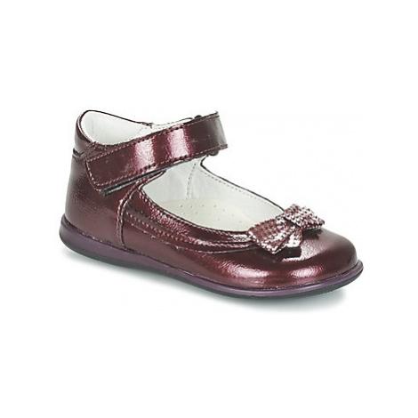 Citrouille et Compagnie FRIZZY girls's Children's Shoes (Pumps / Ballerinas) in Red