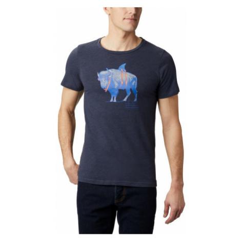 Columbia M PINEY FALLS™ GRAPHIC TEE dark blue - Men's T-shirt