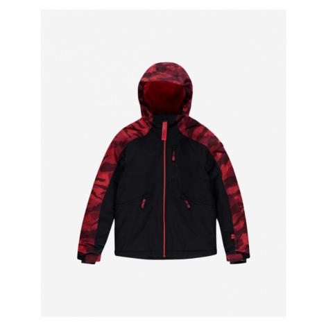 O'Neill Diabase Kids Jacket Black Red