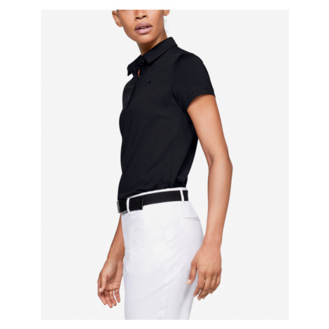 Under Armour Zinger Polo T-shirt Black
