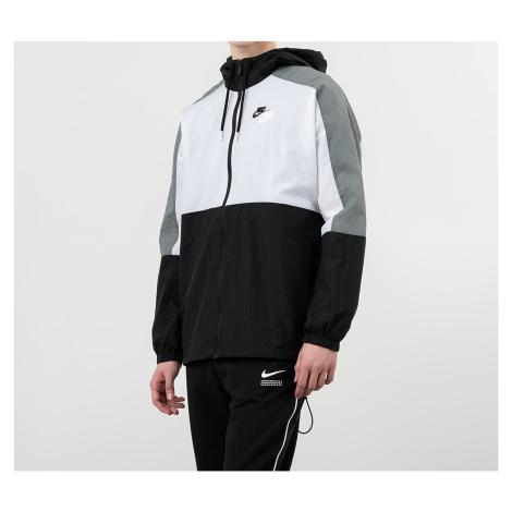 Nike Sportswear Hooded Woven Jacket Black/ White/ Smoke Grey/ Black