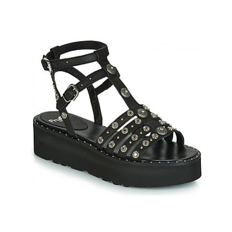Fru.it 5433-476 women's Sandals in Black