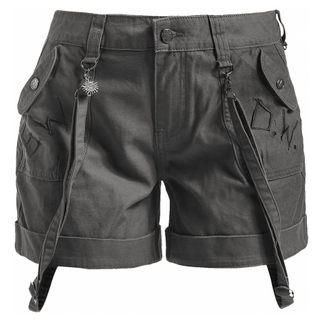 Supernatural - To Hell And Back - Girls shorts - olive
