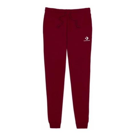 Converse STAR CHEVRON EMB PANT red wine - Men's sweatpants