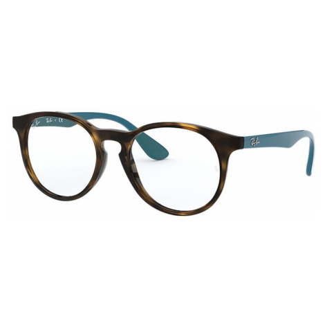 Ray-Ban Rb1554 Unisex Optical Lenses: Multicolor, Frame: Blue - RB1554 3728 48-16