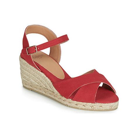Castaner BLAUDELL women's Sandals in Red Castañer