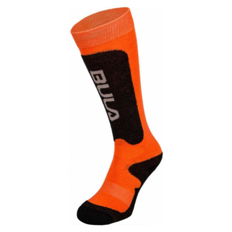 Bula BRANDS SKI SOCKS orange - Children's ski socks