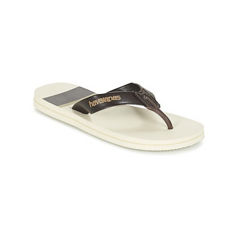 Havaianas URBAN CRAFT men's Flip flops / Sandals (Shoes) in Beige