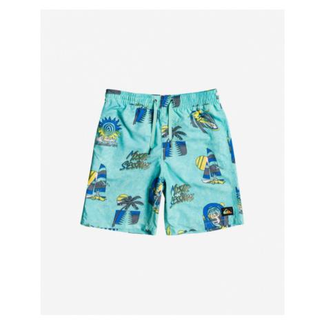 Quiksilver Island Pulse Volley Kids Swimsuit Blue