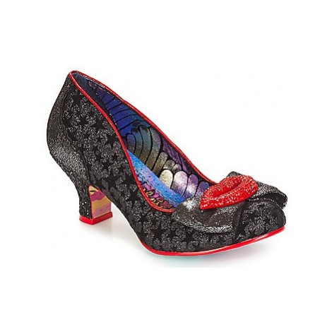 Irregular Choice Carnival kiss women's Court Shoes in Black