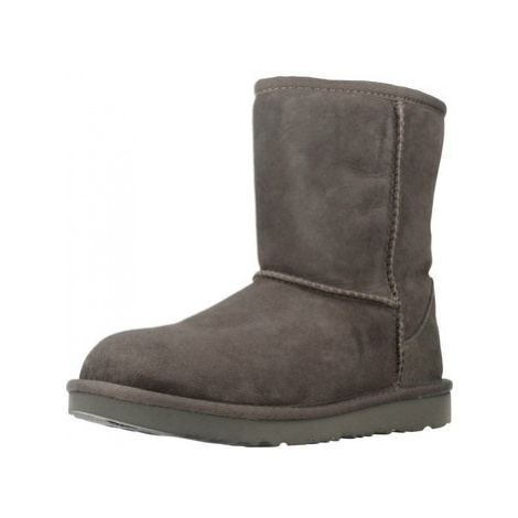 UGG CLASSIC II girls's Children's Snow boots in Grey