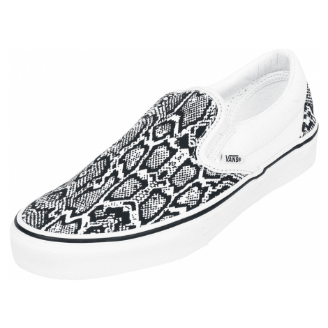Vans - Classic Slip-On Python - Sneakers - white