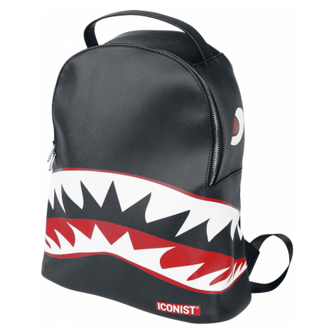 Iconist - Shark - Backpack - black