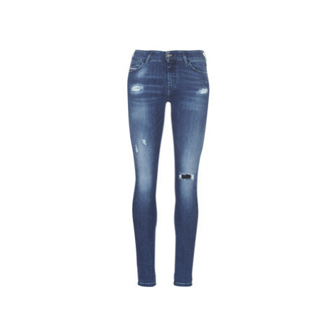 Diesel SLANDY women's Skinny Jeans in Blue