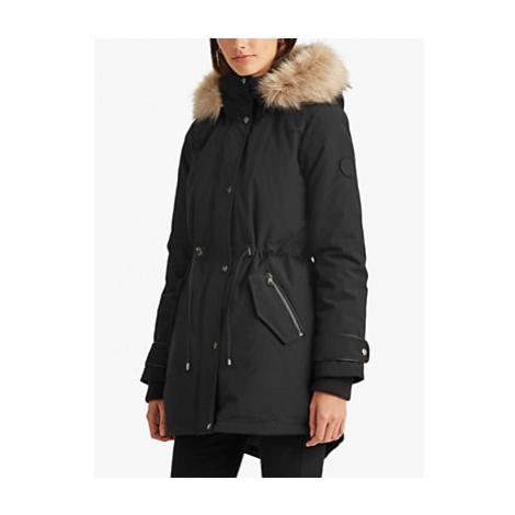 Lauren Ralph Lauren Hooded Parka Coat, Black