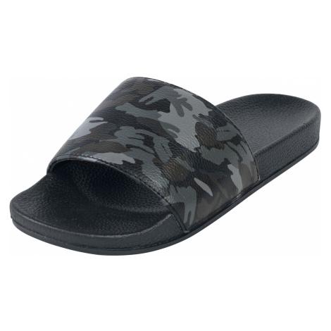 Doomsday - Camo Slider - Sandals - dark camo/black