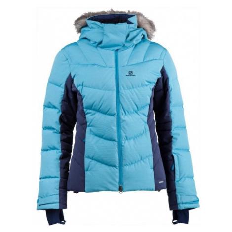 Salomon ICETOWN JKT W blue - Women's winter jacket