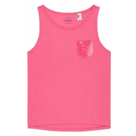 O'Neill LG POCKET TANKTOP pink - Girls' tank top