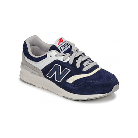 New Balance 997 girls's Children's Shoes (Trainers) in Blue