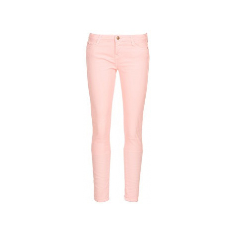 Acquaverde SCARLETT women's Cropped trousers in Pink