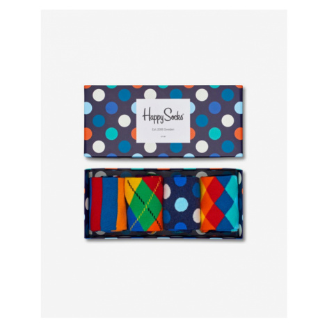 Happy Socks Set of 4 pairs of socks Colorful