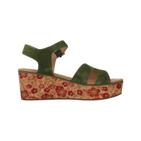 Stonefly 110283 women's Sandals in Green